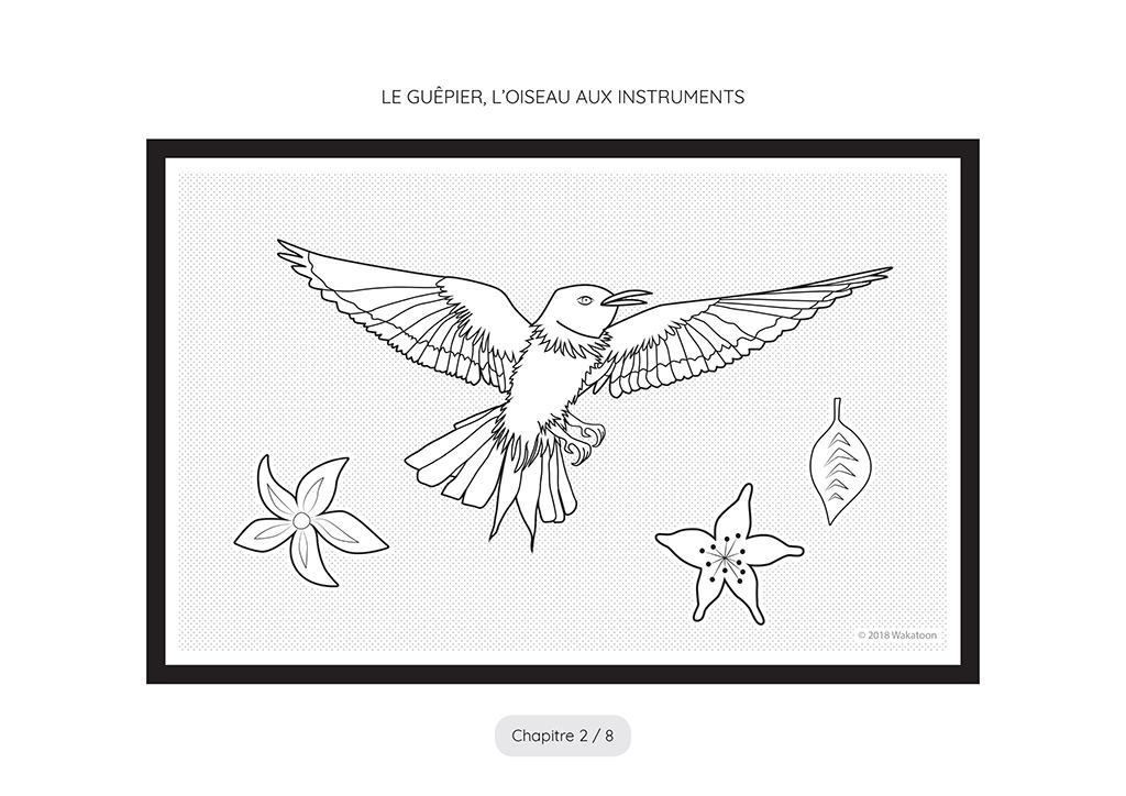 Awa et l'oiseau aux instruments Page 1