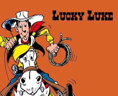 Livre de coloriage animé avec Lucky Luke