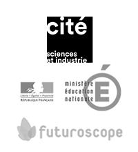 Éducation nationale, Cité des sciences, Futuroscope...